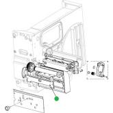 Bracket, Retainer, Platen DPO12-2896-01